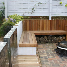 Contemporary Patio by Andy Stedman Landscape & Garden design