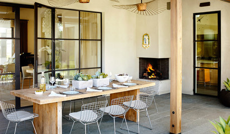 How to Heat an Outdoor Room and Stay Toasty Outside