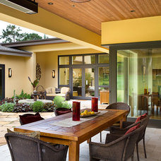 Contemporary Patio by Duxbury Architects
