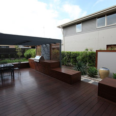 Contemporary Patio by ecodesign Pty Ltd