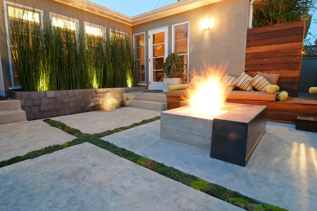 Contemporary Patio By Falling Waters Landscape