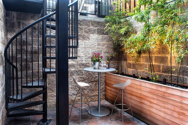 Contemporary Courtyard Contemporary Patio