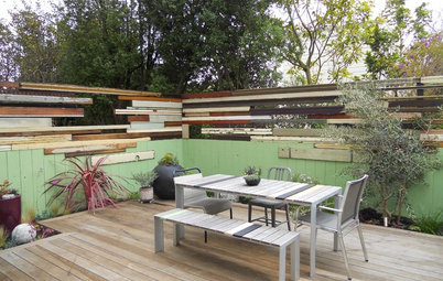 Bring Reclaimed Wood to the Landscape