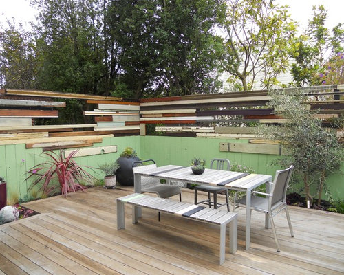 SaveEmail - Recycled Wood Fence Houzz