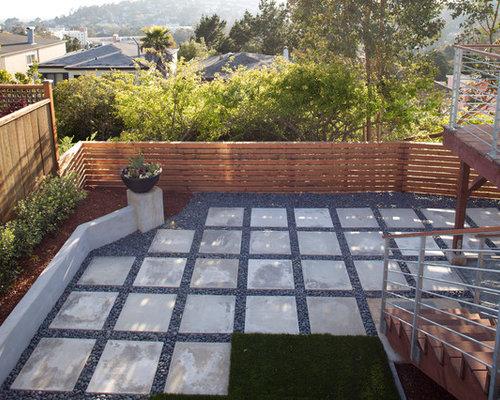 Square paver houzz for Square patio design ideas