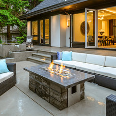 Contemporary Patio by Joshua Lawrence Studios INC
