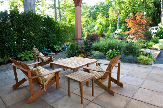 Contemporary Patio by Mary Prince Photography. What to Know Before You Buy Teak Outdoor Furniture