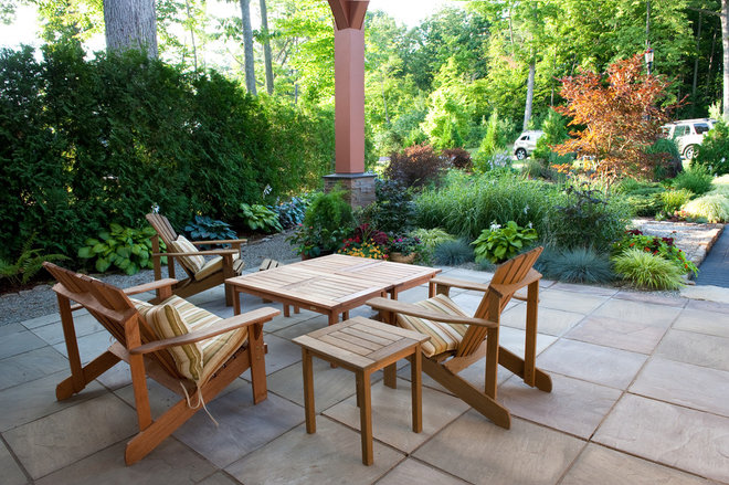 Contemporary Patio by Mary Prince