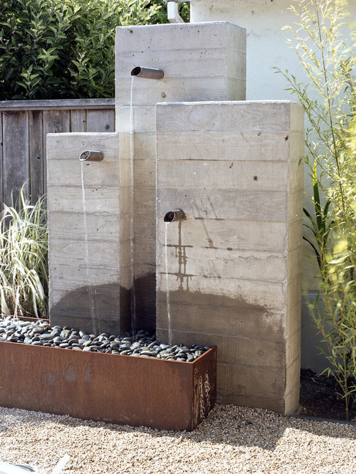Modern Water Feature Houzz