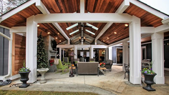 Contemporary Porch & Patio Renovation