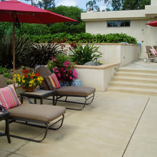 Contemporary Patio by The Design Build Company