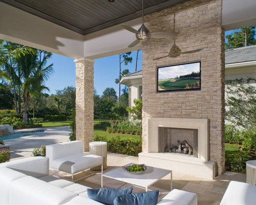 Browse 129 photos of Contemporary Stone Fireplace. Find ideas and inspiration for Contemporary Stone Fireplace to add to your own home.