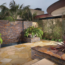 Tropical Patio by Wendi Young Design