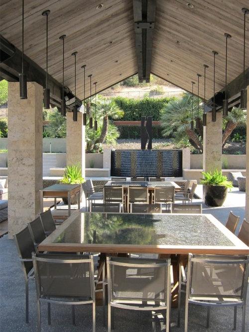 Amazing Trendy Patio Fountain Photo In San Diego
