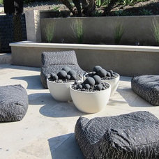 Contemporary Patio by Hasler Construction Management