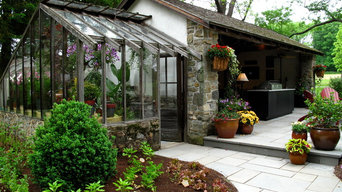 Converted Barn Indoor/Outdoor Entertainment Space