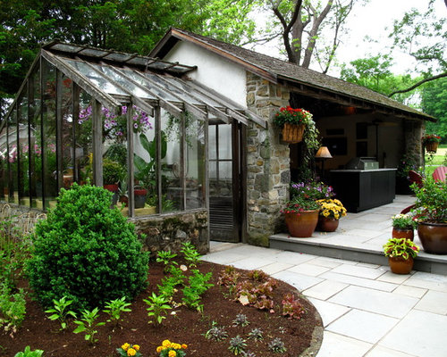 Attached Greenhouse Houzz