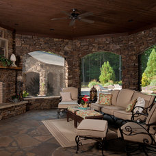 Traditional Patio by Classically Yours Interiors (CYInteriors)