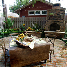 Traditional Patio by L3 Designs