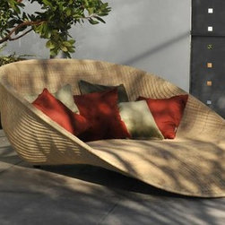 Cool contemporary furniture - Chaise lounge made in US