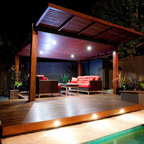 Short st contemporary patio sydney by outhouse design for Pool builders yatala