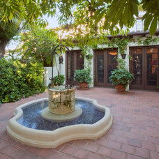 Mediterranean Patio by Kiyohara Moffitt