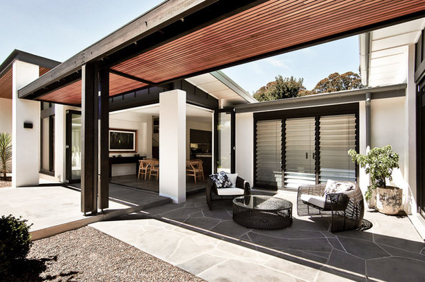 Contemporary Patio by James Design Studio ARCHITECTURE + INTERIORS