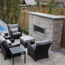 Contemporary Patio by Royal Stone Landscaping & Design Ltd.