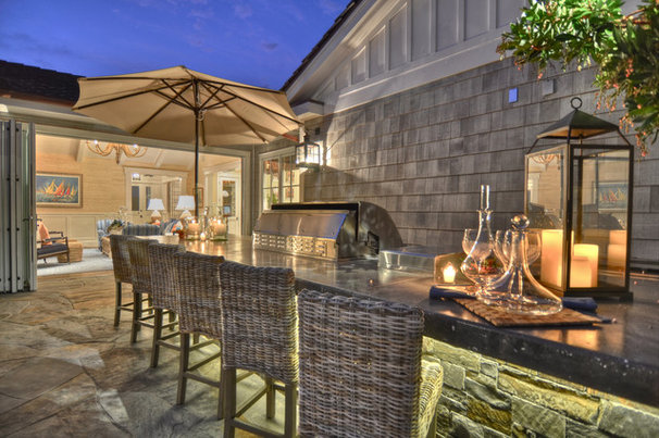 Traditional Patio by Spinnaker Development