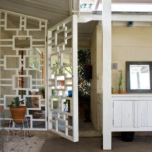 Patio - eclectic patio idea in Austin