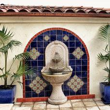 Mediterranean Patio by EcoLux Interiors - San Diego - Suzi OBrien