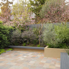 Modern Patio by EAG Studio