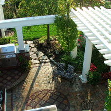Traditional Patio by Fullmer's Landscaping, Inc