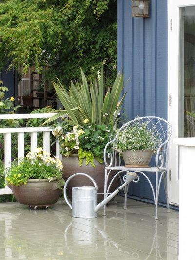 トラディショナル テラス・中庭 by Glenna Partridge Garden Design