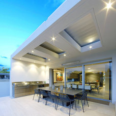 Contemporary Patio by Lyons Architects