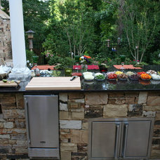 Eclectic Kitchen by Legacy Landscapes, Inc.