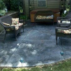 Traditional Patio by Countertop Creations