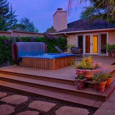 Traditional Patio by AtMar Landscape Services, Inc.