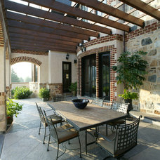 Traditional Patio by Bruce Palmer Interior Design