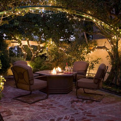 traditional patio by Peg Berens Interior Design LLC