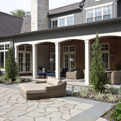 traditional patio by Johnson Design Inc.