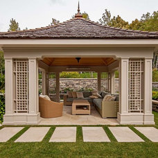 Traditional Patio by Peter A. Sellar - Architectural Photographer