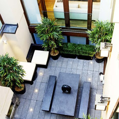 contemporary patio by Design-OD
