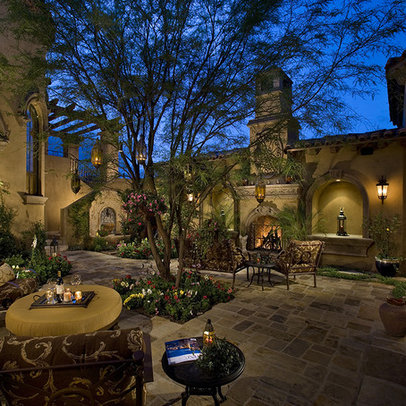 Phoenix Spanish Courtyards Homes Home Design Ideas Pictures Remodel And Decor