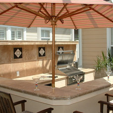 Traditional Patio by Outdoor Kitchens By Design Inc