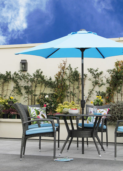 Contemporary Patio by Fishpools Furniture Store & Interior Designers