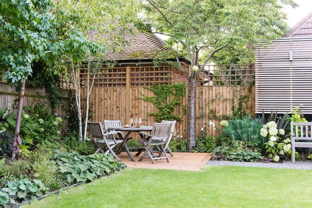 American Traditional Patio by New Form Landscapes Ltd