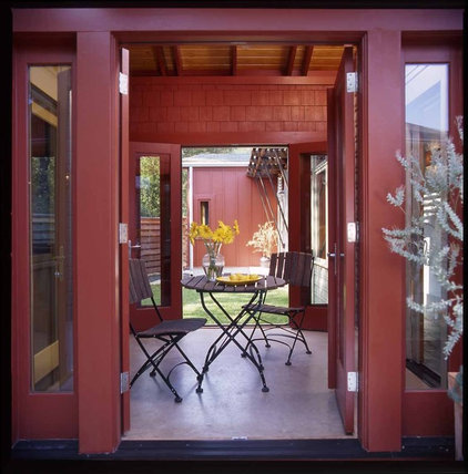 Eclectic Porch by Antenora Architects