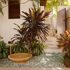 Tropical Patio by MCM Design