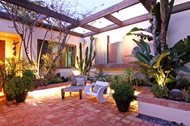 Tropical Patio by Shelley Gardea